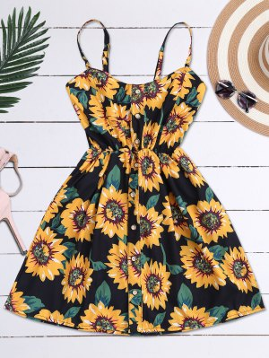 Cami Smocked Floral Mini Dress