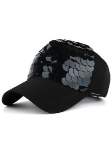 Twinkling Fish Scale Design Baseball Hat
