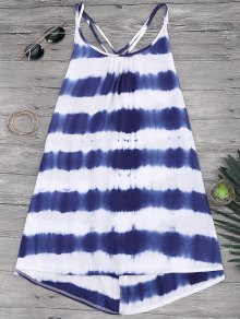 Cami Flowy Dress With Stripes