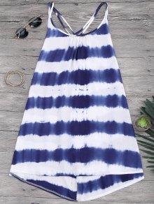 Cami Flowy Dress With Stripes - Stripe