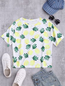Distressed Pineapple Top