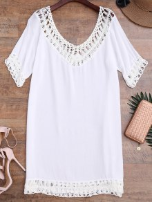Relaxed Fit Beach Cover Up Dress