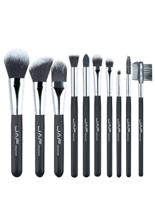 10Pcs Portable Nylon Beauty Makeup Brushes Set