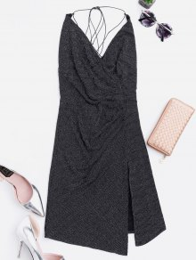 Criss Cross Skiny Club Dress