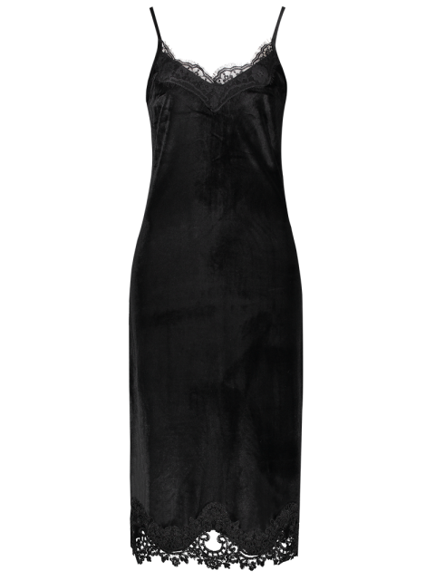 new Cami Midi Bodycon Party Dress - BLACK L Mobile