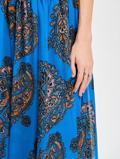 Elastic Waist Chiffon Print Skirt от Zaful.com INT