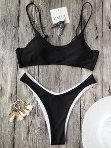 Cami Padded Thong Bathing Suit