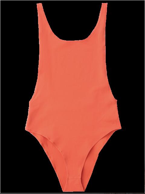 fashion Skinny Sleeveless Backless Bodysuit - JACINTH M Mobile