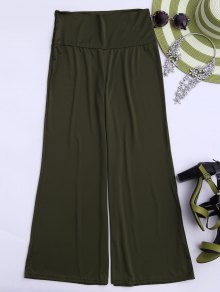 Soft High Waisted Palazzo Pants