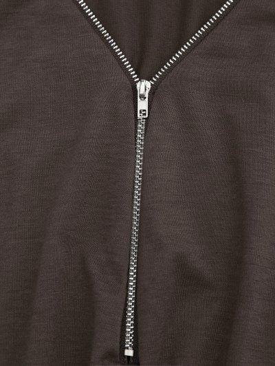 Belted Halp Zip Romper от Zaful.com INT