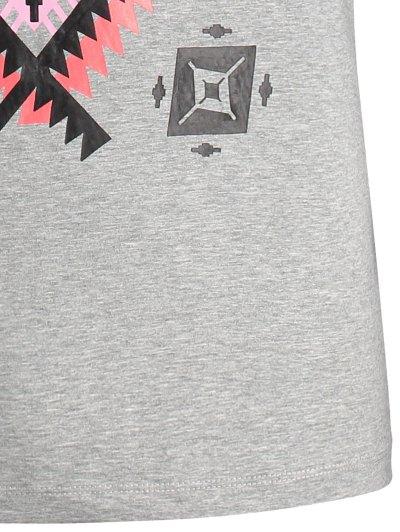 Short Sleeve Tribal Printed Tee от Zaful.com INT