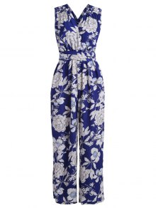 Multiway Floral Wide Leg Palazzo Jumpsuit