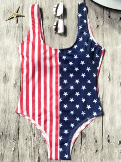 Shaping USA Patriotic One Piece Swimsuit - Us Flag M