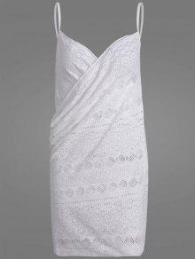 Crochet Wrap Beach Cover Up Dress