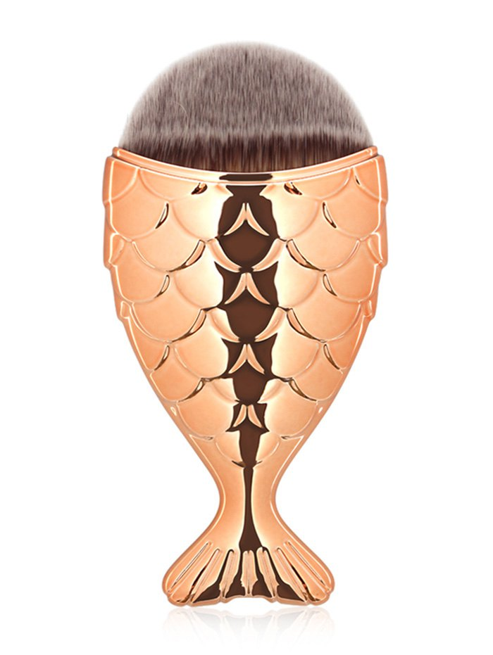 Mermaid Design Portable Facial Makeup Brush