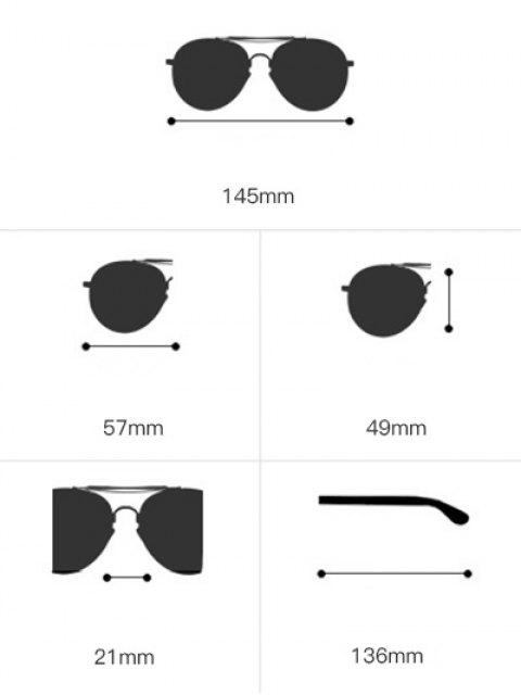 new Asymmetric Hollow Out Leg Geometrical Sunglasses - YELLOW  Mobile
