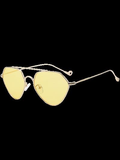 Asymmetric Hollow Out Leg Geometrical Sunglasses от Zaful.com INT