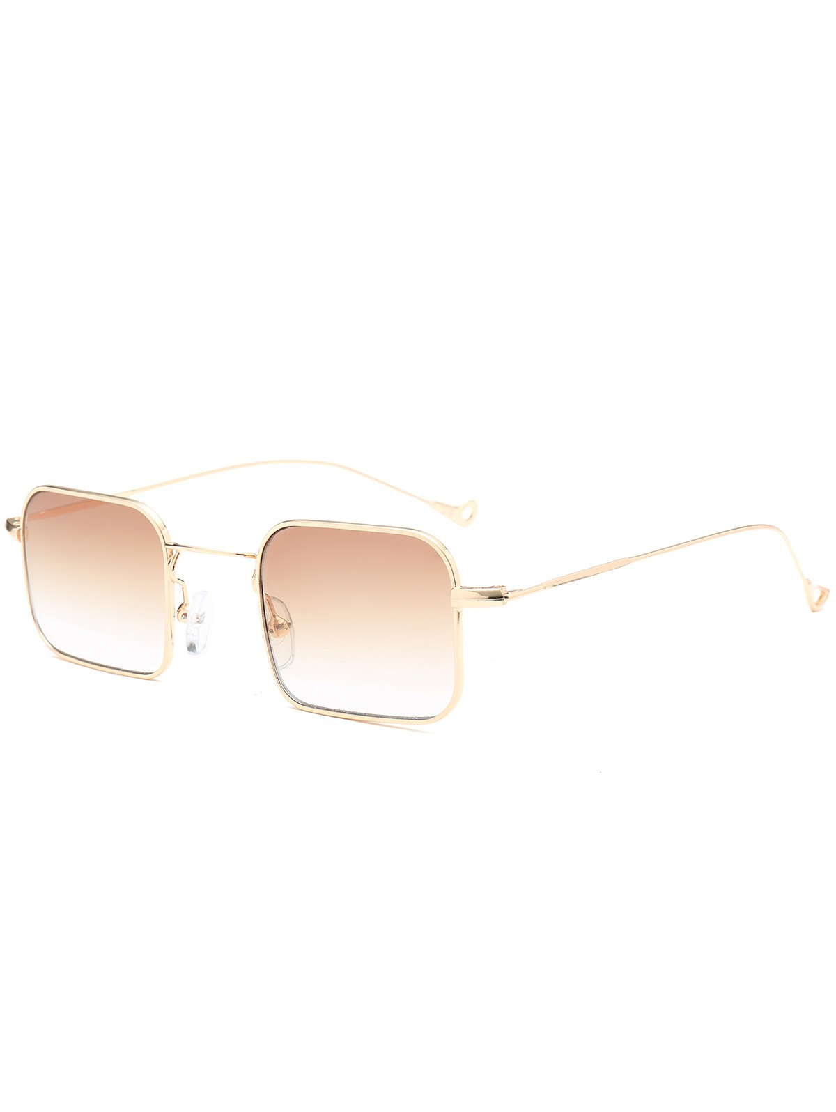 Ombre Asymmetric Hollow Out Leg Rectangle Sunglasses от Zaful.com INT