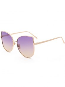 Gradient Color Cat Eye Sunglasses