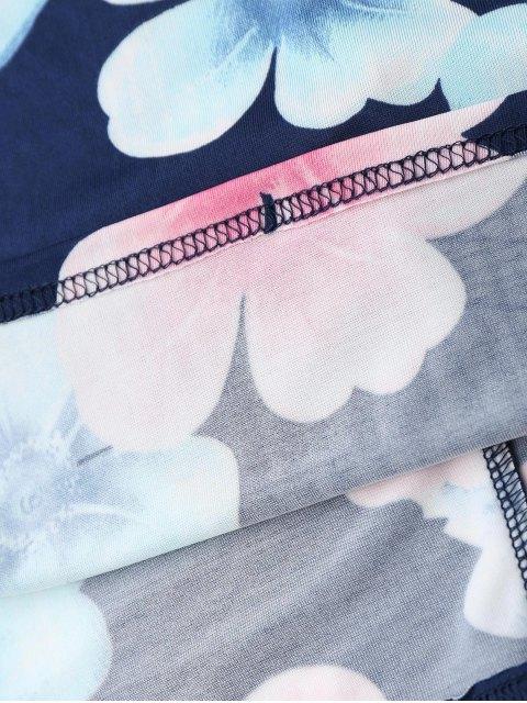 ladies Midi Pencil Slip Dress - PURPLISH BLUE L Mobile