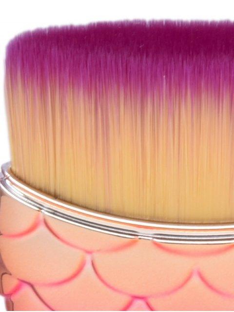 fancy 8Pcs Nylon Mermaid Tail Makeup Brushes Set - MULTICOLOR  Mobile