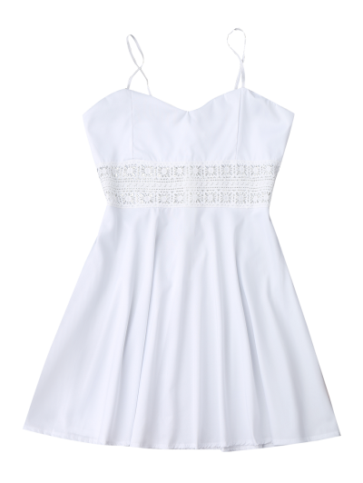 Cami Crochet Trim Skater Sun Dress от Zaful.com INT