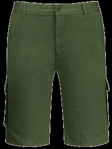 Multi Pockets Bermuda Cargo Shorts