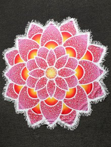 Mandala Lightweight Beach Throw