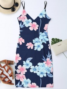 Midi Pencil Slip Dress