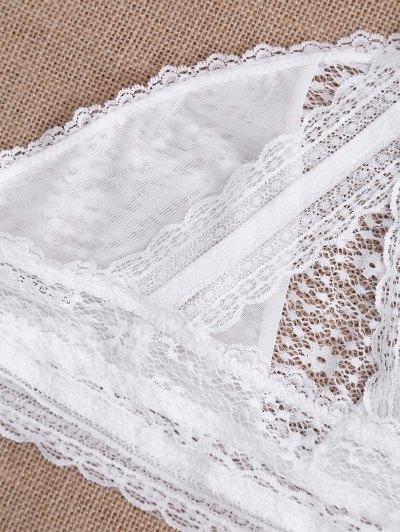 Full Lace Cut Out Bralette Bra от Zaful.com INT