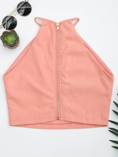 Floral Embroidered Faux Suede Tank Top от Zaful.com INT