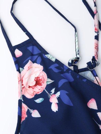 Criss Cross Cami Floral Romper от Zaful.com INT