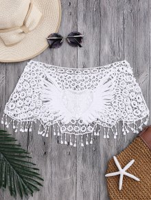 Tube Heart Crochet Tube Cover Up Top