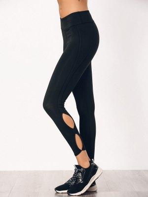 Stretchy Cut Out Sporty Bottoms