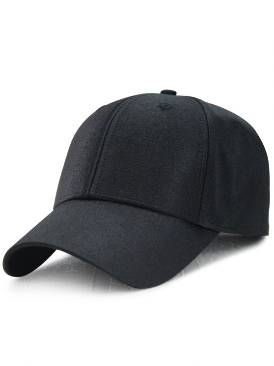 Chapeau de baseball réglable Shimmer Long Tail - Noir