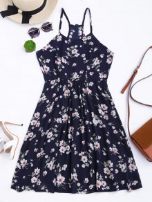 Cami Tiny Floral Smock Dress