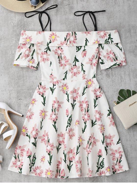 Robe imprimée à fleurs - Floral L