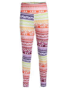 High Waisted Geometric Print Gym Yoga Leggings