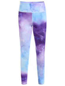 Ombre Tie-Dyed Yoga Leggings