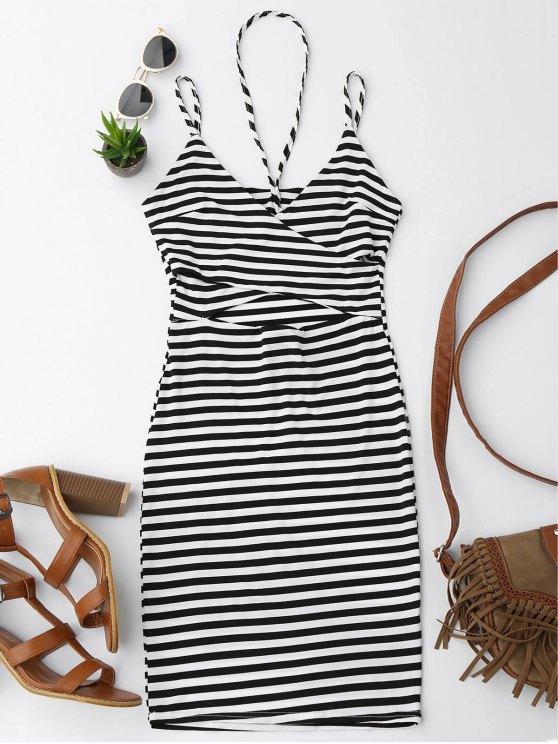 Vestido de rayas cortas de Cami - Raya XL