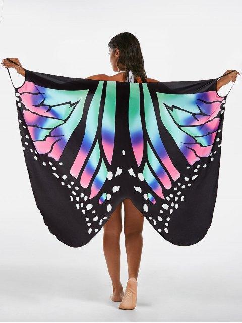 Robe de survêtement pour imprimé papillon - Multicolore XL Mobile