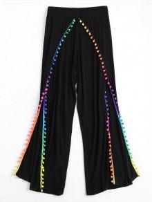 Pom Embellished Tulip Cover Up Pants