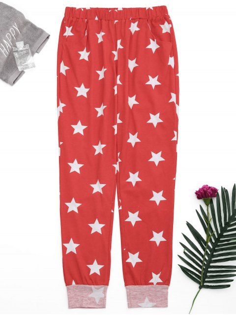 Pantalons Starwear Pentagram Starwear - Rouge S Mobile