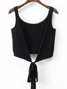 Ribbed Beach Cover Up Crop Wrap Top