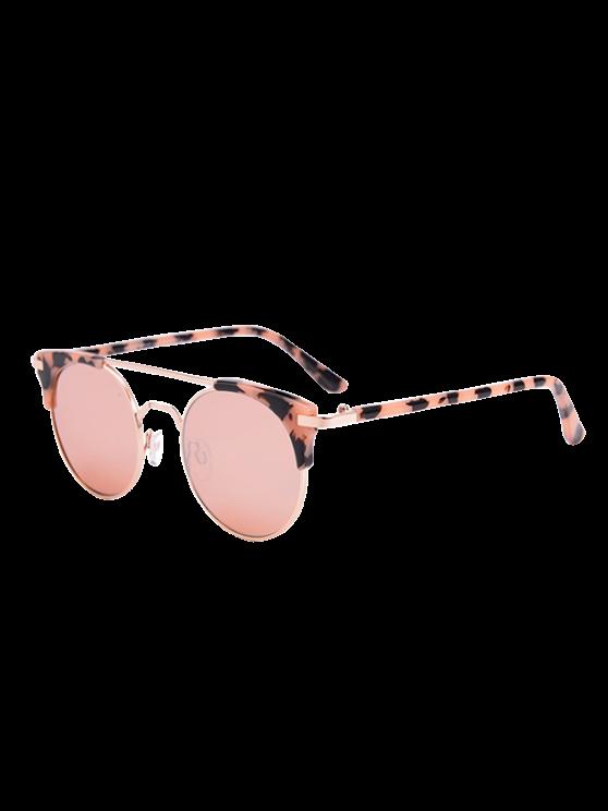 Gafas de sol anti UV gato con caja - Rosa