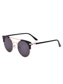 Anti UV Cat Eye Sunglasses With Box - Black