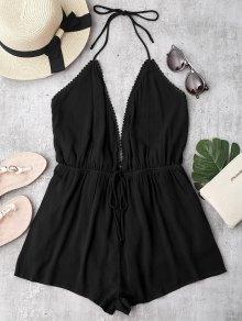 الغطس شاطئ الرسن التستر رومبير - أسود L