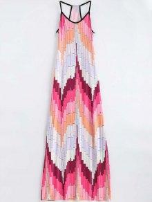 Geometric Print Cami Maxi Dress
