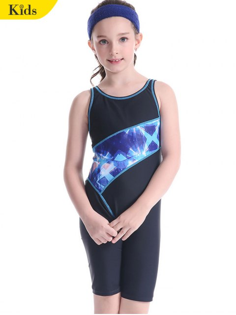 outfit Patterned Cut Out Snorkeling Surfing Swimwear - BLACK 6T Mobile