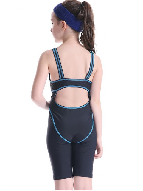 outfits Patterned Cut Out Snorkeling Surfing Swimwear - BLACK 7T Mobile